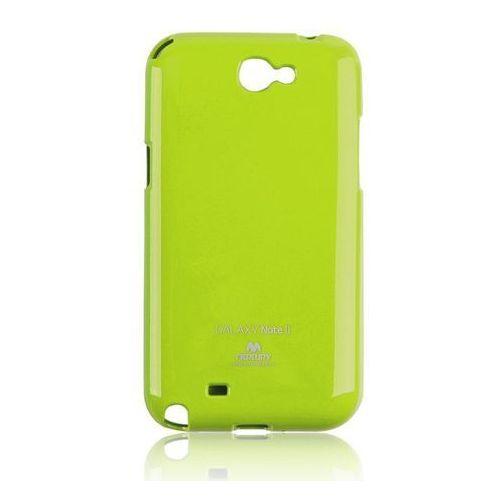 Partner tele.com Etui mercury jellycase do samsung note 8 limonkowe