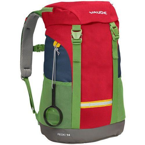 Vaude PECKI Plecak marine/red, 12457