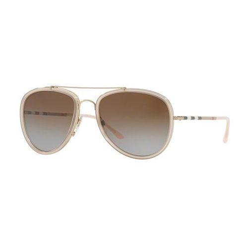 Okulary słoneczne be3090q polarized 1246t5 marki Burberry