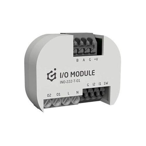 Grenton grenton 2.0 i/o module 2/2, flush, tf-bus, 1-wire ino-222-t-01 - autoryzowany partner grenton, automatyczne rabaty.