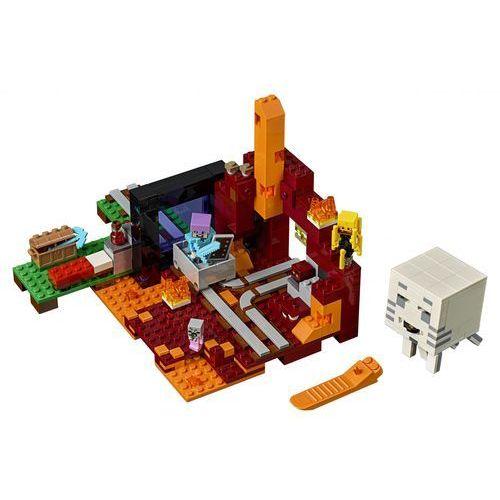 Lego MINECRAFT Portal do netheru the nether portal 21143