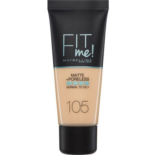 Maybelline  fit me! matte and poreless foundation - 130 buff beige