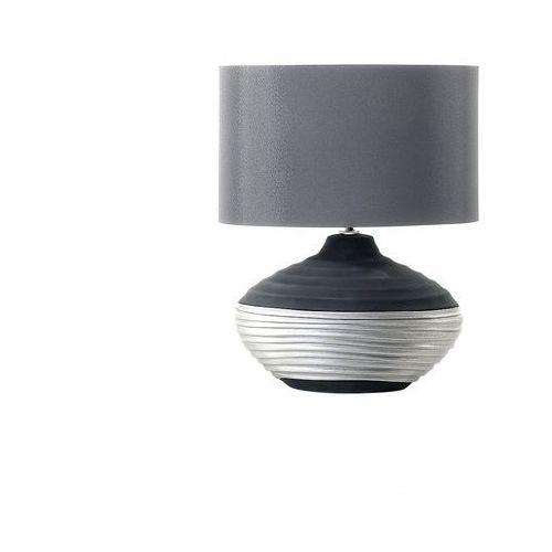 Nowoczesna lampka nocna - lampa stojąca - szara - LIMA