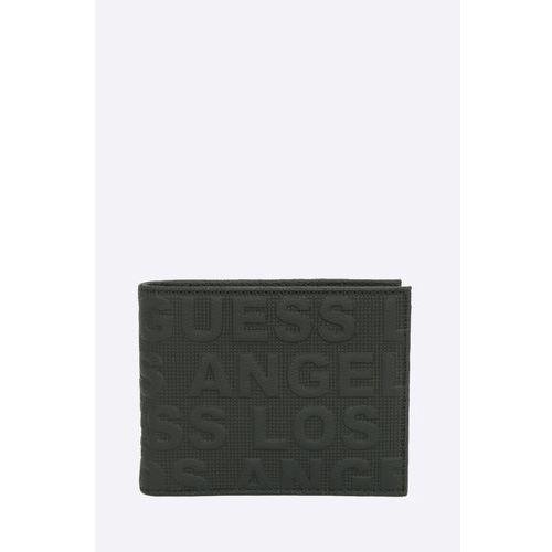 - portfel skórzany boston marki Guess jeans