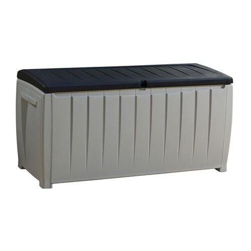 Keter Skrzynia ogrodowa novel storage box 340l szaro-czarny darmowy transport (7290103666125)