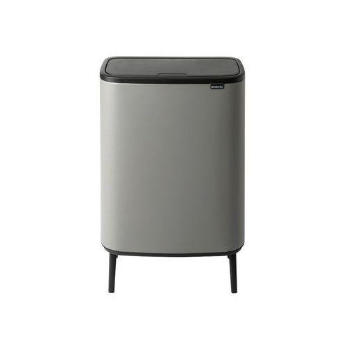 Brabantia Kosz na śmieci bo touch bin hi 2 x 30 l szary matowy (8710755130663)