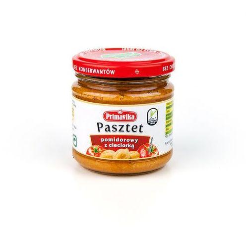 Primavika Pasztet pomidorowy z cieciorką 170g -