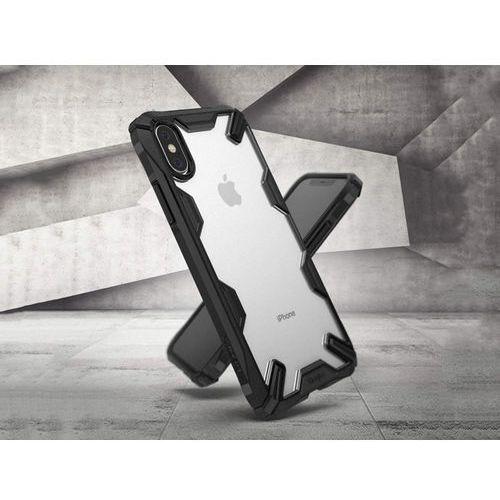 Etui Ringke Fusion X Apple iPhone XS Max black, kolor czarny