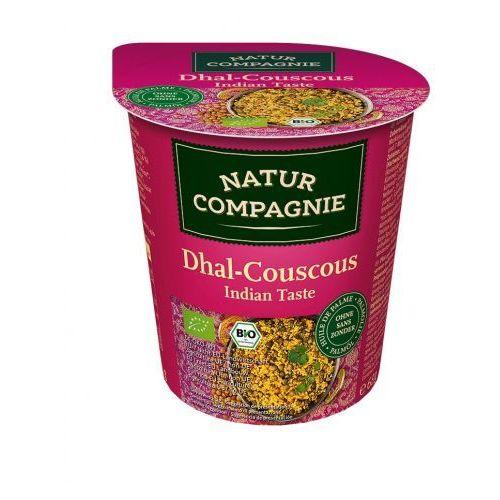 Danie w kubku kuskus indyjski z soczewicą bio 68 g - natur compagnie wyprodukowany przez Natur compagnie (buliony, kostki rosołowe)