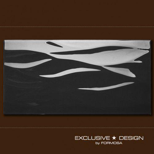 płytka 3d new rinsve black 600x300x8 mm a-tgl08xx-012 marki Midas