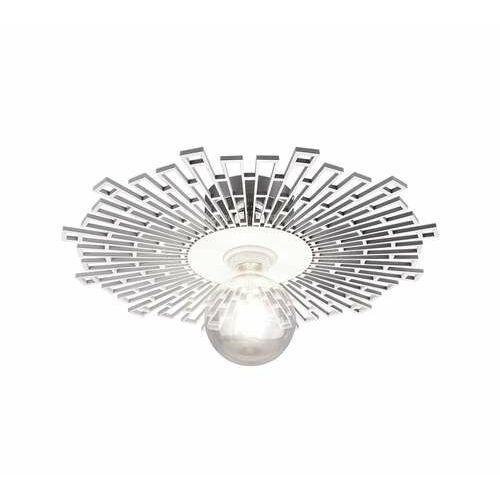 Trio rl milo r60131001 plafon lampa sufitowa 1x60w e27 chromowy/biały