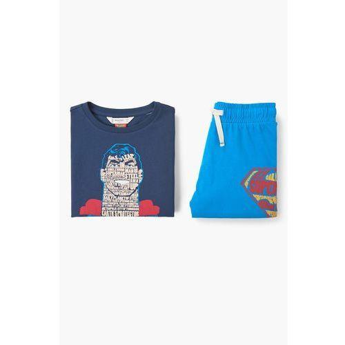 Mango kids  - piżama dziecięca superman 104-164 cm