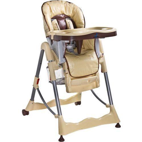Krzesełko do karmienia CARETERO Magnus Classic cappuccino z kategorii krzesełka do karmienia