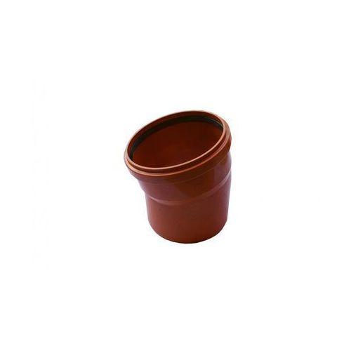 Kolano kanalizacji zewnętrznej 200 mm/15° POLIPLAST (5907660707179)