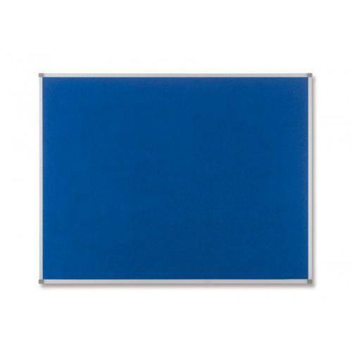 Tablica NOBO Elipse tekstylna 90x60cm (niebieska, szara lub czerwona)