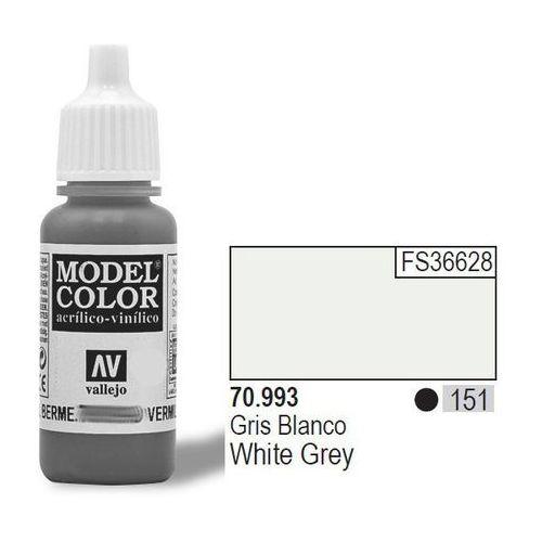 Farba nr 151 white grey matt 17 ml marki Vallejo