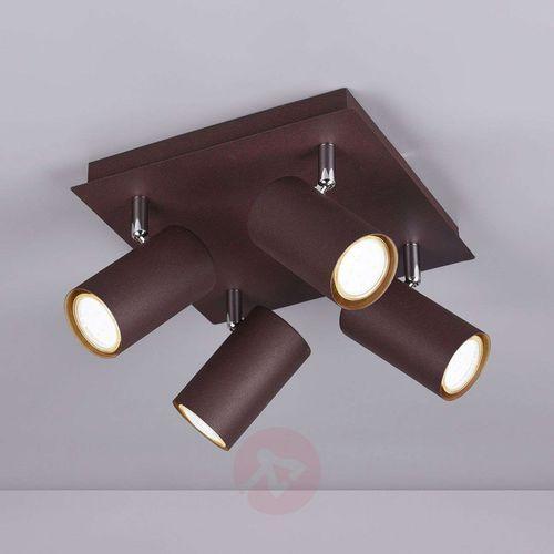 Trio leuchten marley reflektor rudy, 4-punktowe - nowoczesny - obszar wewnętrzny - marley - czas dostawy: od 3-6 dni roboczych
