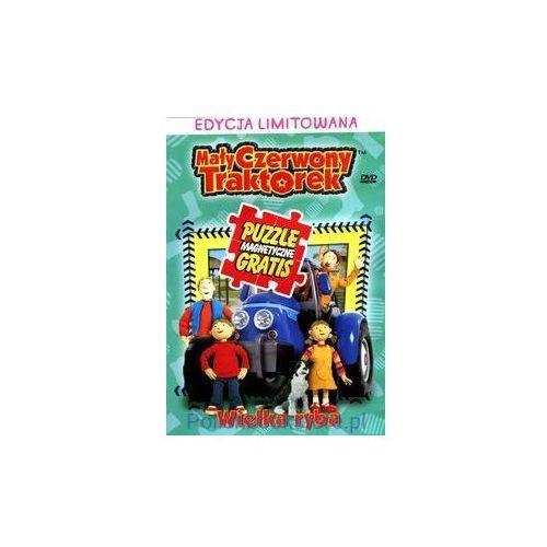Mały Czerwony Traktorek: Wielka ryba + puzzle (5905116010330)