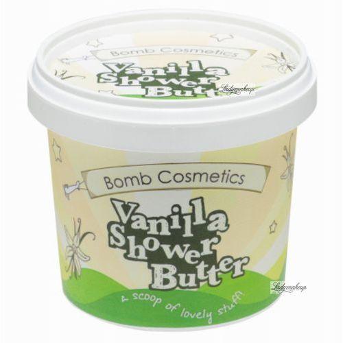 Bomb Cosmetics - Vanilla - Shower Butter - Myjące masło pod prysznic - LODY WANILIOWE