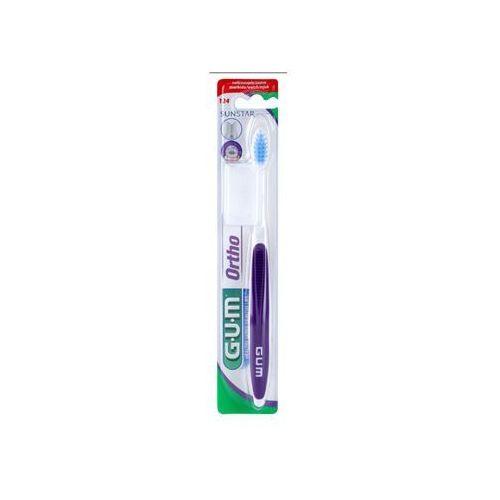 ortho szczoteczka do zębów dla użytkowników aparatów ortodontycznych soft + do każdego zamówienia upominek. marki G.u.m