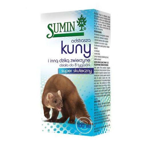 Płyn odstraszający kuny i inne dzikie zwierzęta 8 tyg. 100 ml marki Sumin