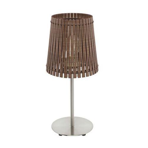 Eglo 96203 - Lampa stołowa SENDERO 1xE27/60W/230V