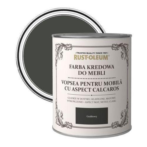 Farba kredowa do mebli Rust-Oleum grafitowy satyna 0,125 l, kolor szary