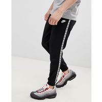 taping skinny fit joggers in black ar4912-010 - black marki Nike