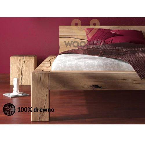Łóżko dębowe syringa 04 140x200 marki Woodica