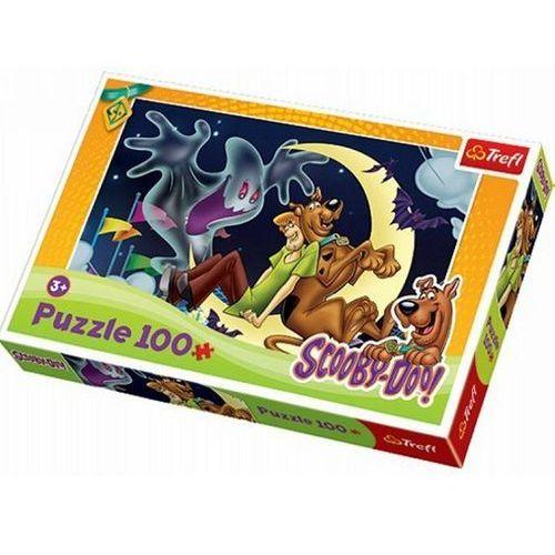 Trefl Puzzle scooby i wesoły duszek, 100 elementów - (5900511161977)