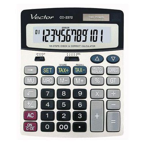 Kalkulator VECTOR CD-2372 (5904329453521). Najniższe ceny, najlepsze promocje w sklepach, opinie.