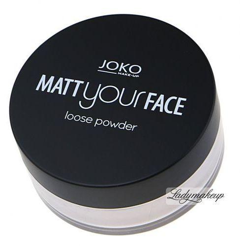 Joko  - matt your face loose powder - matujący puder sypki-22