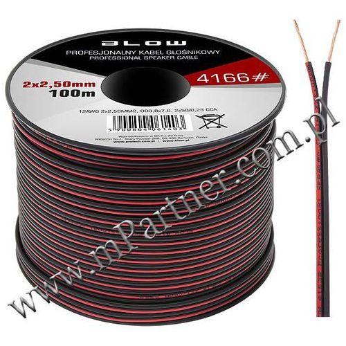 Przewód głośnikowy kabel CCA 2x2,5mm 100m