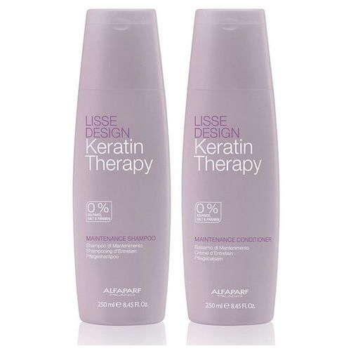 Alfaparf Keratin Therapy Maintence   Zestaw podtrzymujący efekt wygładzenia Szampon + Odżywka 2x250 ml