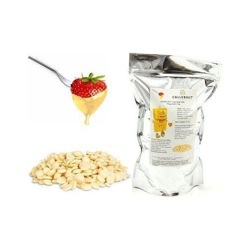 Czekolada biała belgijska do fondue oraz fontann   1 kg marki Callebaut