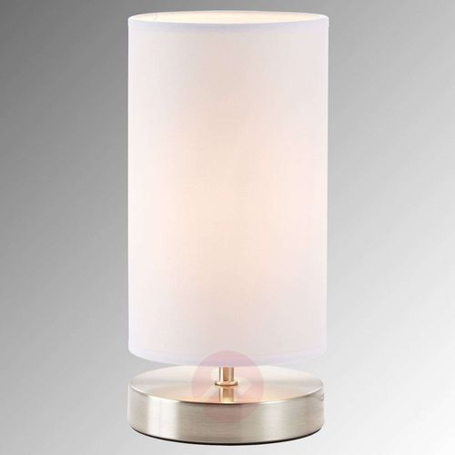 Brilliant Lampka nocna 13247/05, 1x40 w, e14, biały, (Øxw) 12 cmx25.5 cm, 230 v (4004353175190)