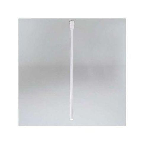 Downlight LAMPA sufitowa ALHA Y 9001/G9/900/kolor Shilo natynkowa OPRAWA minimalistyczna sopel tuba, kolor Biały