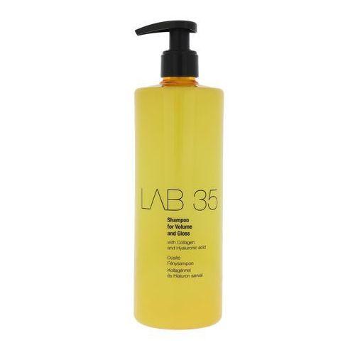 Kallos LAB 35 Shampoo For Volume And Gloss - Szampon do włosów dodający objętości i połysku, 500 ml, 5998889510909