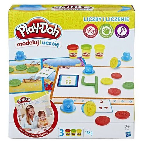PlayDoh Liczby i liczenie - Hasbro (5010993342938)
