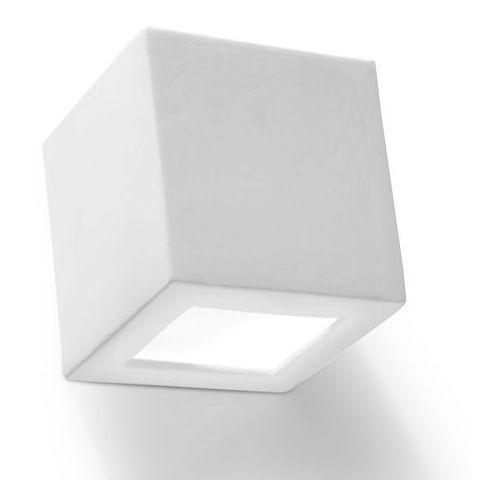 Sollux Leo SL.0005 Kinkiet lampa ścienna 1x60W E27 biały >>> RABATUJEMY do 20% KAŻDE zamówienie!!!