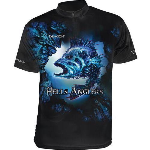 Dragon T-Shirt oddychający ClimaDRY Hells Anglers roz. S / TS-51-01