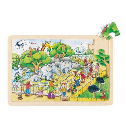 Goki Puzzle w zoo 24