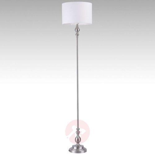 dustin lampa stojąca stal nierdzewna, 1-punktowy - nowoczesny - obszar wewnętrzny - dustin - czas dostawy: od 4-8 dni roboczych marki Leuchten direkt