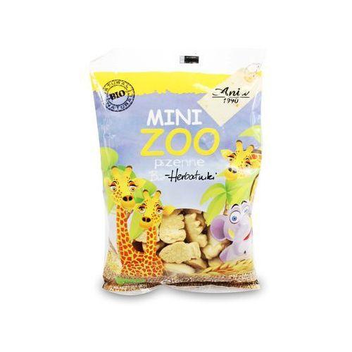 Bioania Ciasteczka pszenne mini zoo bio 100g -