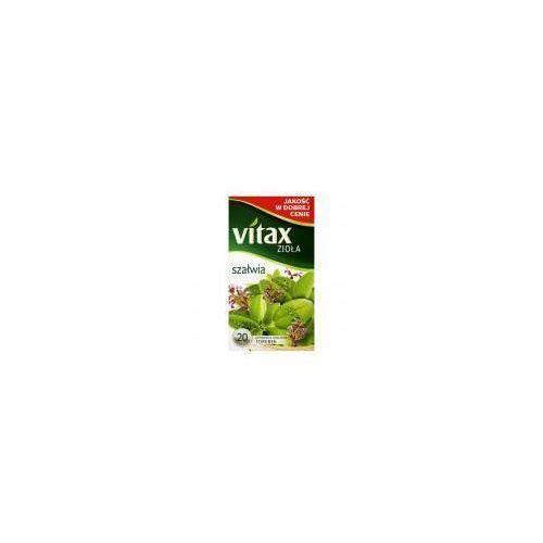 Herbatka ziołowa Vitax Zioła Szałwia 24g (20 torebek) (5900175431706)
