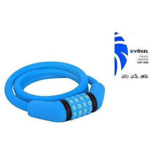 VÖgel Zapięcie rowerowe vzp-008 szyfr niebieski