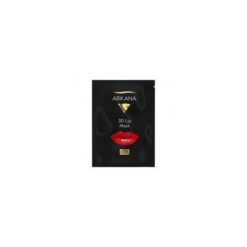 3d lip mask, maseczka na usta, ref. 55006 marki Arkana