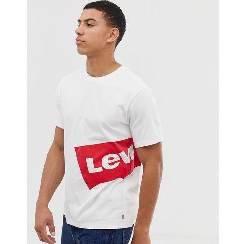Levi's oversized side batwing logo t-shirt in white - White, w 5 rozmiarach