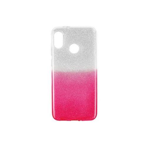 HTC U12 Life - etui na telefon Forcell Shining - różowe ombre, kolor różowy