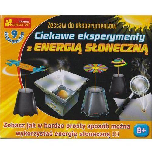 Zestaw do eksperymentów - ciekawe eksperymenty z energią słoneczną 12160294 - marki Ranok-creative